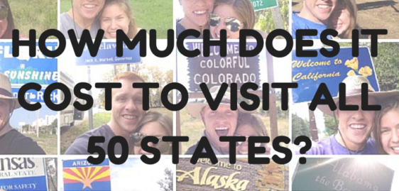 How Much Does It Cost To Visit All 50 States?