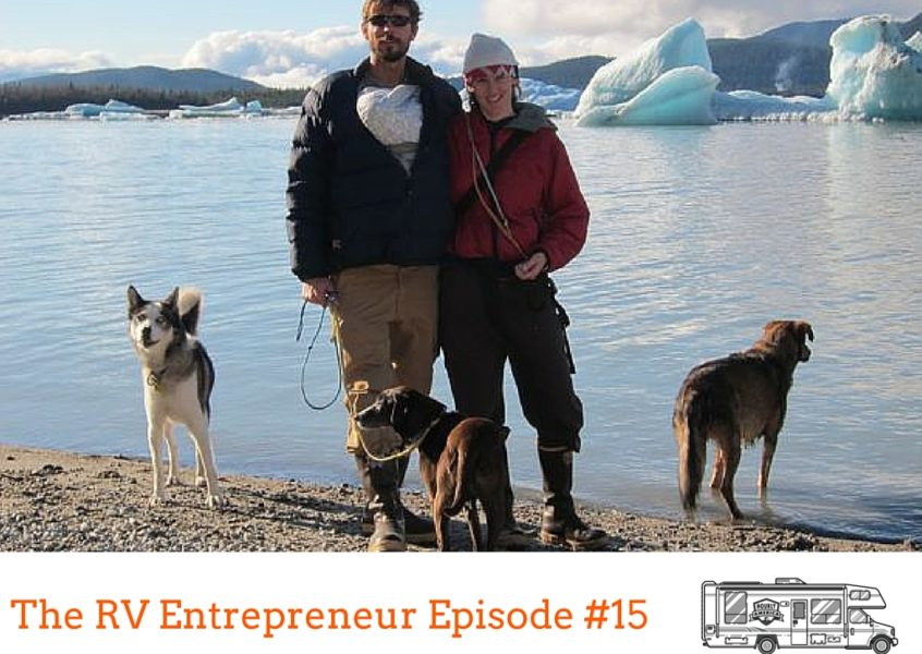 RVE 0015: From Dog Mushing in Alaska to Full-Time RVing