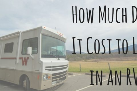 How Much Does It Cost to Live in an RV?