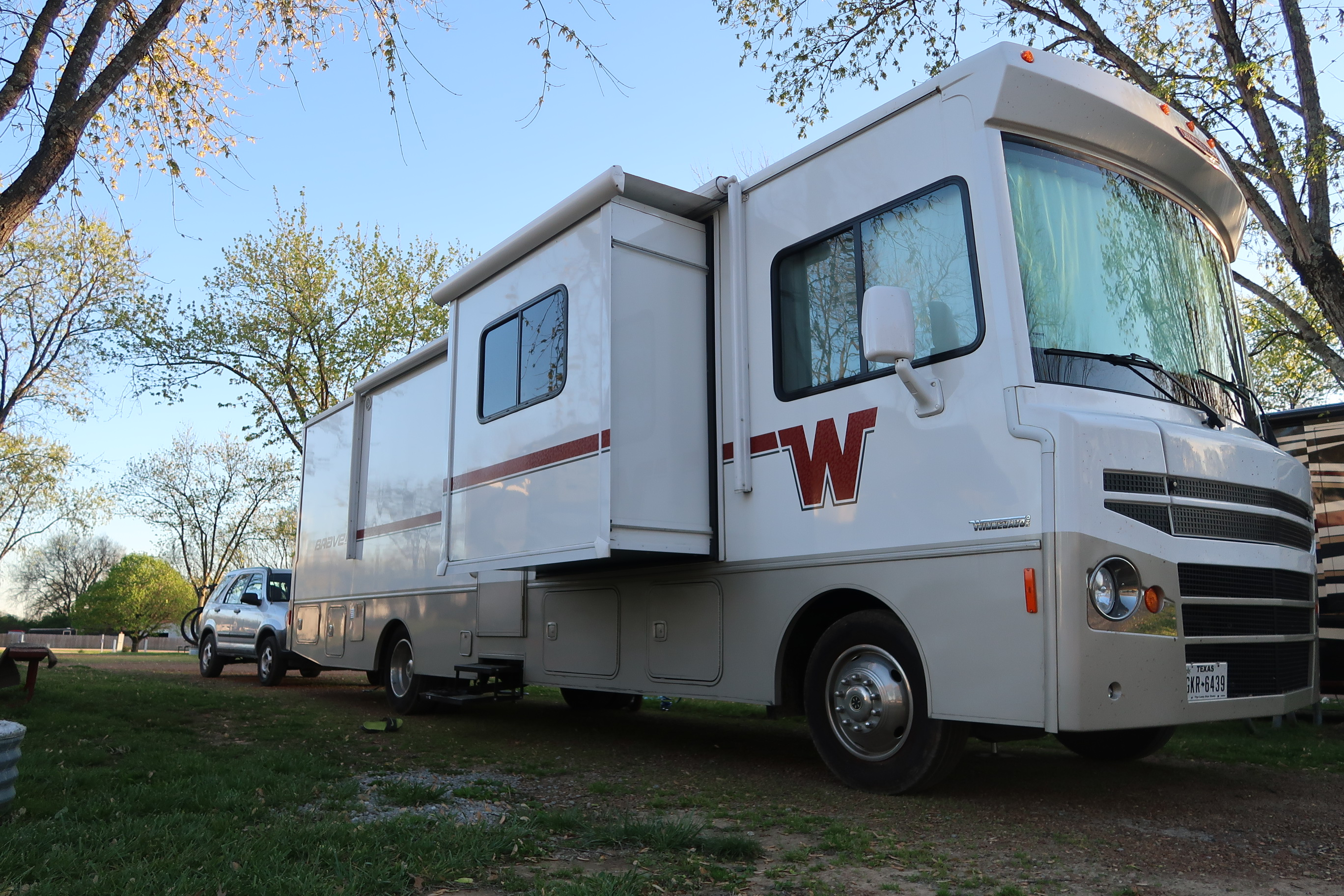 Rv With Full Living Room