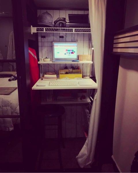 Rachel Brewer office set-up