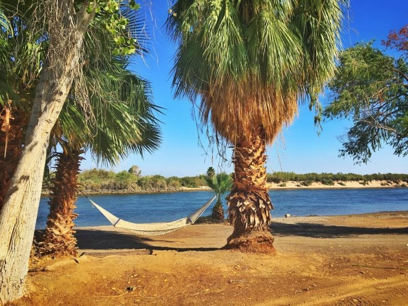 places to winter in the rv arizona