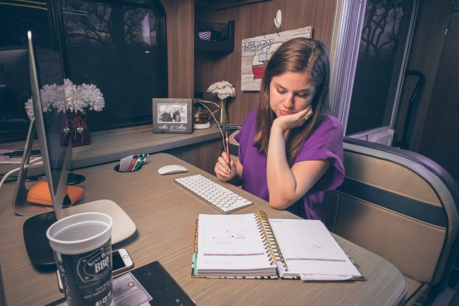 Alyssa Padgett shares writing tips to finish your first book